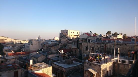 view from roof picture of petra hotel hostel jerusalem rh tripadvisor co za