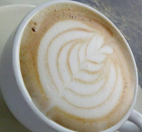 Vive Cafe: Flat white muy rico!!!
