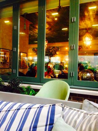 Covered Outside Area Picture Of The Ivy Chelsea Garden London Tripadvisor