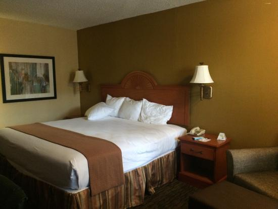 Best Western Cityplace Inn: Our room