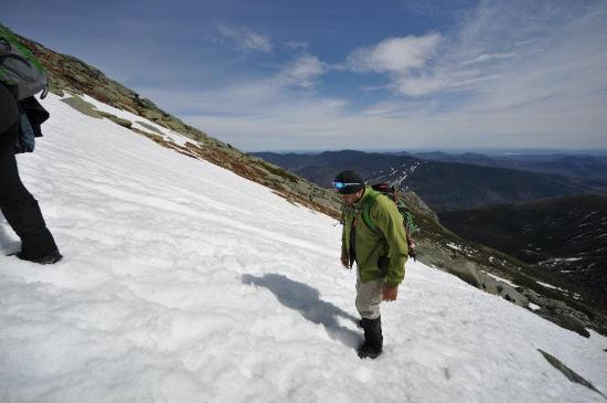 Mount Washington, Nueva Hampshire: pulled a groin, we MUST STICK TOGETHER!
