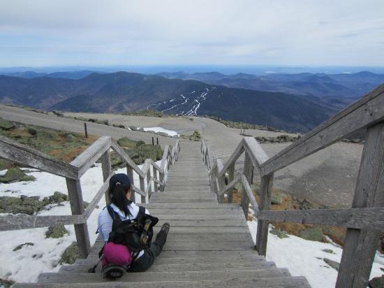 Mount Washington, Nueva Hampshire: time to relax...