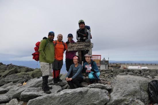 Mount Washington, Nueva Hampshire: goal accomplished...