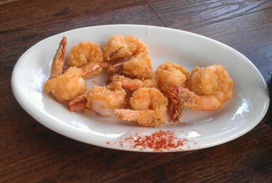 Thunderbolt, Georgien: Fried Shrimp