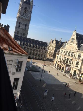 Ibis Gent Centrum St-Baafs Kathedraal: Blick aus dem Zimmer