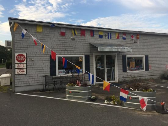 Cataumet, MA: MOCEAN OUTPOST at Kingman Yacht Center