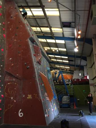 The Reach Climbing Wall