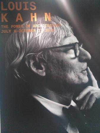 the Design Museum: Exposição Louis Kahn