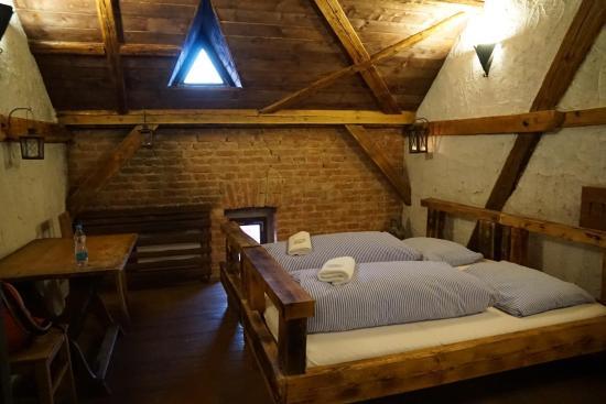 Medieval Hotel Detenice. Room.