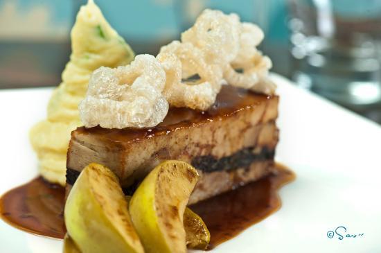 Peppercorn Restaurant: Belly pork and black pudding