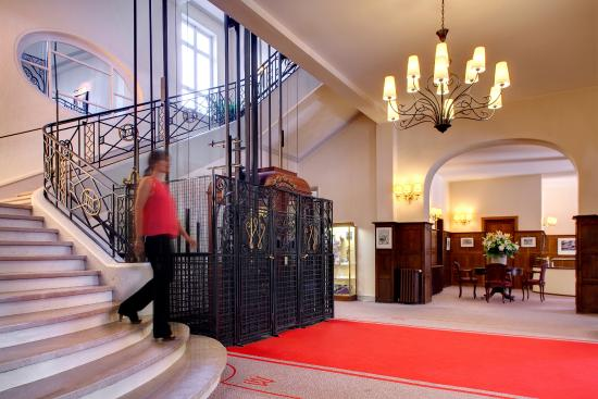 Hall Picture Of Hotel Barriere Le Westminster Le Touquet