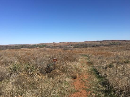 Oklahoma: Looking to north/northeast