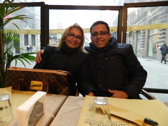 Caffe Milano: Aconchegante