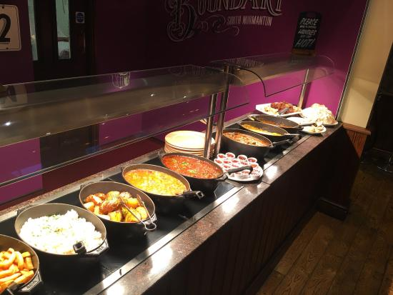 South Normanton, UK: Curry Buffet Wednesday's 6pm - 9pm