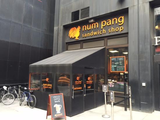 Num Pang Sandwich Shop: num pang on a spring day