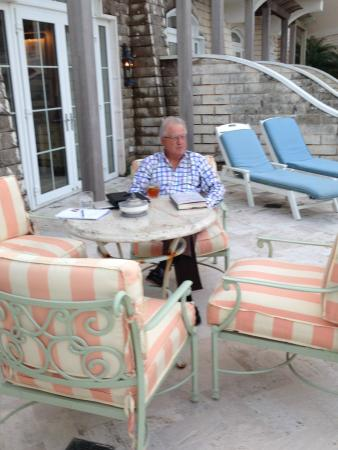 Rosewood Bermuda: balcony