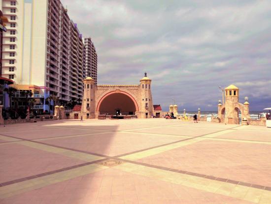 Daytona Beach Bandshell Plaza
