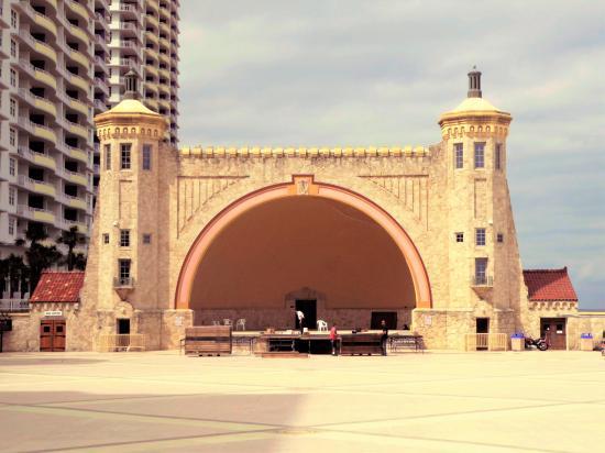 Daytona Beach Bandshell Historic