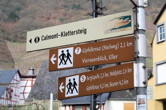 Klettersteig Map : In de calmont klettersteig bild von bremm