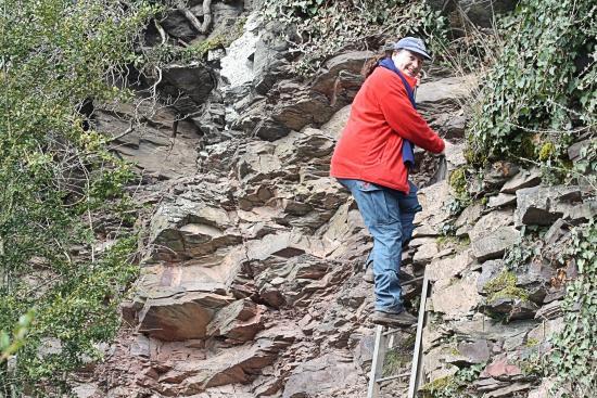 Klettersteig Nochern : In de calmont klettersteig bild von bremm