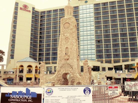 restoring the coquina clock tower picture of ocean walk village rh tripadvisor co uk