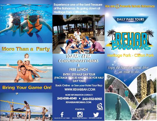 Rehab Bahamas Brochure Picture Of Rehab Bahamas Nassau