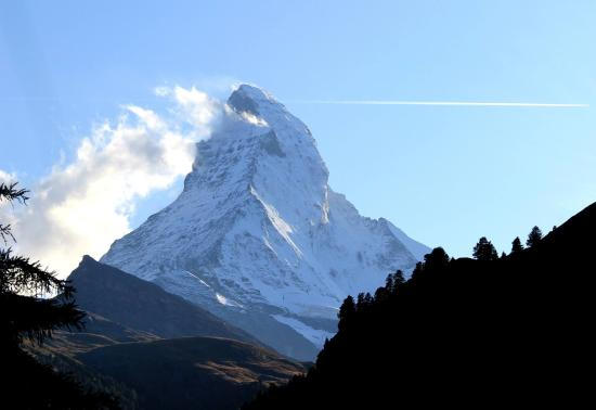 Pleasurable stay with Matterhorn always in sight.