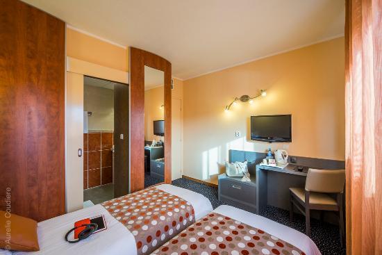 Atlantys Hotel : chambre twin