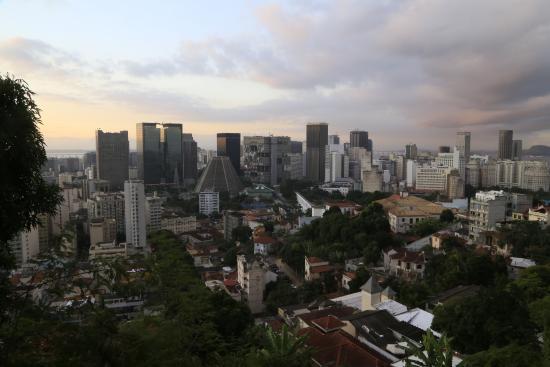 Terra Brasilis Hostel: Vista da Varanda principal