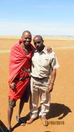 Siana Springs: Gideon Yenko and Bernard Koech who made my Mara adventures fun and educational!