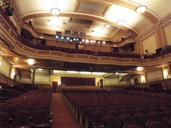 Rylander Theatre: Three level of seating holds several hundred people