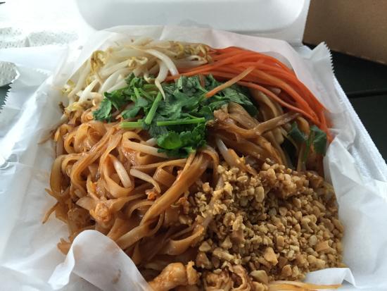 Thai Food Express Truck Punaluu Restaurant Reviews Photos