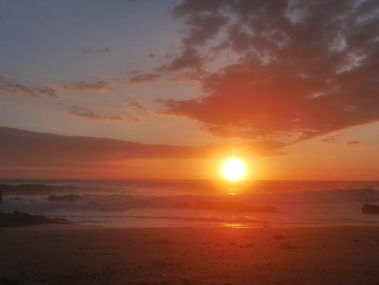 Playa Cielo: Sunset- each day more beautiful than the one before