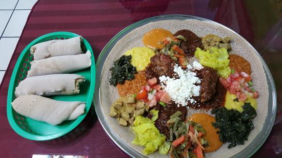 Mahider Ethiopian Restaurant & Market: Taste of Mahider for 2 at Salt Lake City, Ut