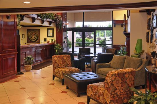 Oxford Suites Spokane Valley: Lobby