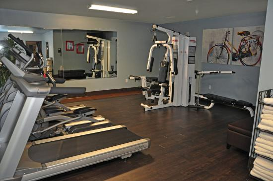 Oxford Suites Downtown Spokane: Fitness Room