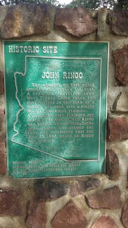 John Ringo Historic Site