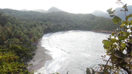 Calibishie, Dominica: Batibou beach narby