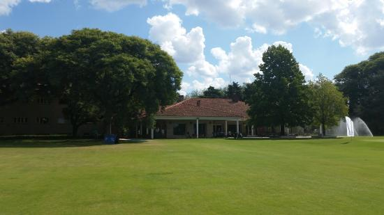 Olivos Golf Club: The clubhouse