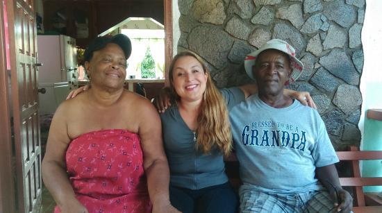 Calibishie, Dominica: Nixon Family-adorable people
