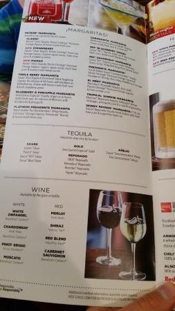 menu guide to do a menu