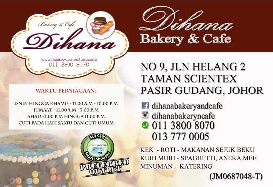 Pasir Gudang, Malaysia: Infirmation Board of Dihana