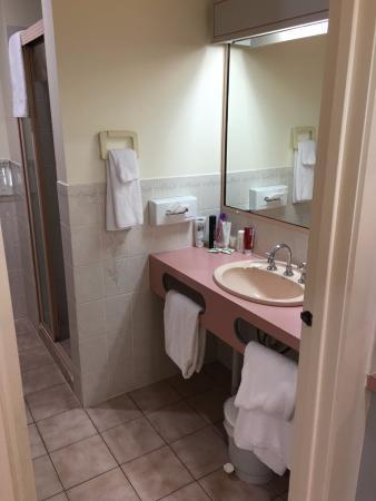 Twofold Bay Motor Inn: Bathroom in room 19