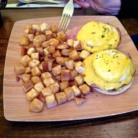 River's Edge: Eggs Benedict