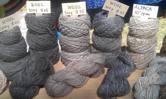 Greenock, Australia: Handspun wool
