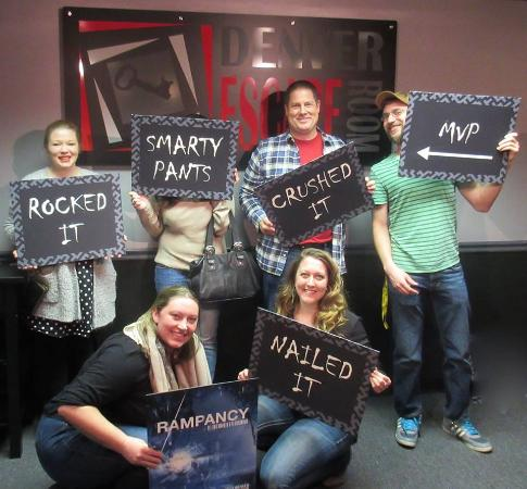 Denver Escape Room  It s not weather you win or lose its how you play the. Teamwork makes the dream work    Picture of Denver Escape Room