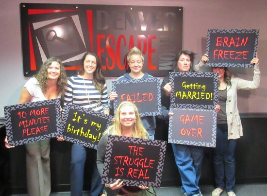 Denver Escape Room  Teamwork makes the dream work. Teamwork makes the dream work    Picture of Denver Escape Room