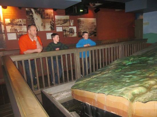 River Discovery Center: The room about the flood. I wish the voice over was a bit louder.