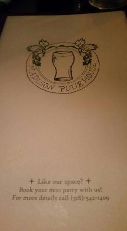 Madison Pour House