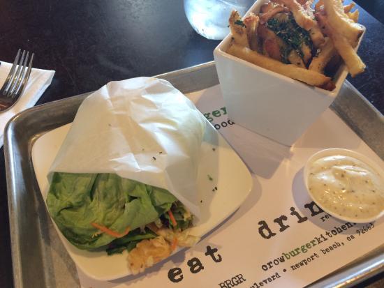 Photo of American Restaurant Crow Burger Kitchen at 3107 Newport Blvd, Newport Beach, CA 92663, United States